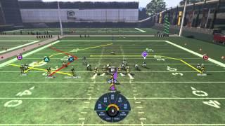 getlinkyoutube.com-Madden NFL 16 how to beat a cover 3 defense
