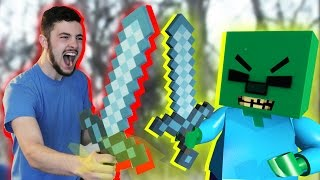 getlinkyoutube.com-LEGO meets Minecraft 3