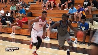 Dennis Smith vs Rawle Alkins @ The Adidas Gauntlet Finale
