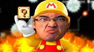 getlinkyoutube.com-Super Mario Maker FR | CE DÉFI ME STRESSE EN MAUDIT!