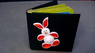 Paper Quilling Designs - How To Make Quilling Rabbit - Paper Quilling Art Patterns - Ep 12