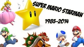 getlinkyoutube.com-Super Mario Starman (1985-2014) - HQ