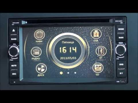 Обзор штатной автомагнитолы RedPower для автомобилей Nissan на WinCE