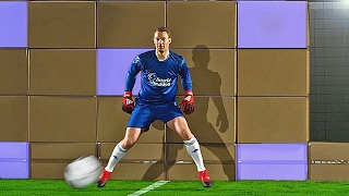 getlinkyoutube.com-freekickerz vs. Manuel Neuer - Ultimate Football Challenges