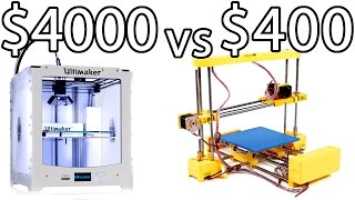 getlinkyoutube.com-ULTIMAKER 2 vs PRINT-RITE DIY 3D Printer & How to Bed Level - PRINTER PARTY | Make Test Battle