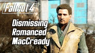 getlinkyoutube.com-Fallout 4 - Dismissing Romanced MacCready