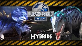 getlinkyoutube.com-Jurassic World The Best Hybrids: Indominus Rex, Stegoceratops...