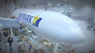 "getlinkyoutube.com-The ""making of..."" Skymark Airlines' first A330 #Airbus"
