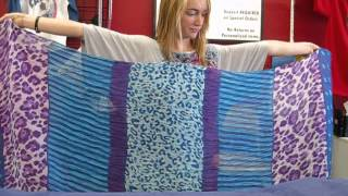 getlinkyoutube.com-How To: Make a Scarf into a Vest