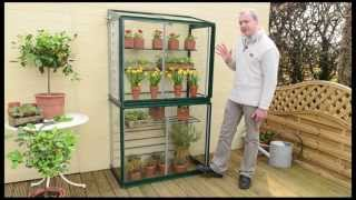 getlinkyoutube.com-Hampton mini greenhouse by Access Garden Products