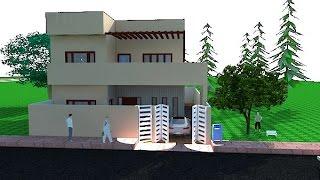 10 MARLA HOUSE DESIGN IN PAKISTAN width=