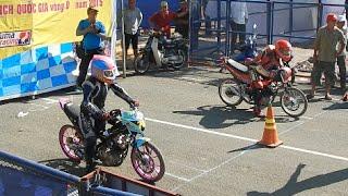 getlinkyoutube.com-Suzuki Raider 150 400M VN Drag Racing (Test Day)