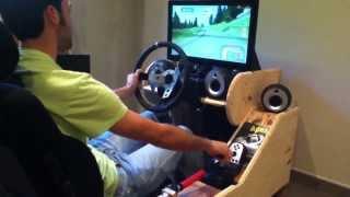 getlinkyoutube.com-Richard Burns Rally -Cote de arbroz- /Toledonen #3199/ Racing Simulator RBR