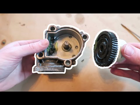 E53 X5 E83 X3 BMW Transfer Case Actuator Motor Gear Repair