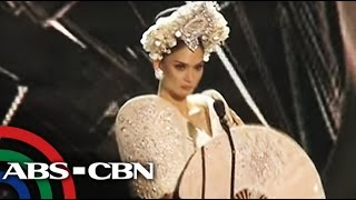 getlinkyoutube.com-TV Patrol: Pia Wurtzbach suot ang national costume