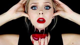 getlinkyoutube.com-Headless Halloween Makeup Tutorial | Cosmobyhaley