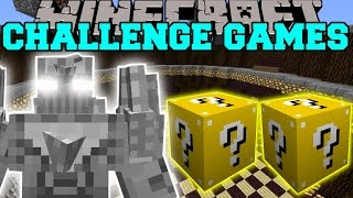 getlinkyoutube.com-Minecraft: DOOMSDAY CHALLENGE GAMES - Lucky Block Mod - Modded Mini-Game