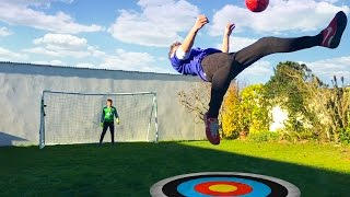 BICYCLE KICK FOOTBALL CHALLENGE