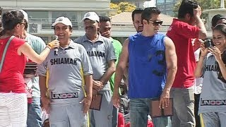 getlinkyoutube.com-Jethalal and Daya with Salman Khan at Celebrity Charity Cricket Match.