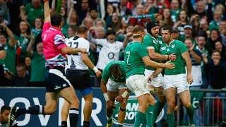 Ireland v Romania - Match Video Highlights and Tries in the RWC