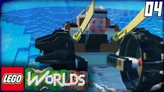 "getlinkyoutube.com-Lego Worlds Part 4 - ""WE BROKE THE GAME!!!"" (Lego Open World Sandbox Gameplay)"
