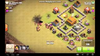 getlinkyoutube.com-Clash Of Clans MAXED TH3 Best War Base + Defense Clip!