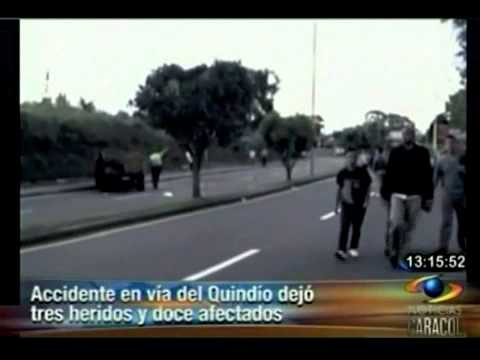 Accidentes de tránsito en carreteras Colombia