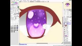 [How to]Sai: การวาดตา+ลงสี(หญิง-ชาย)