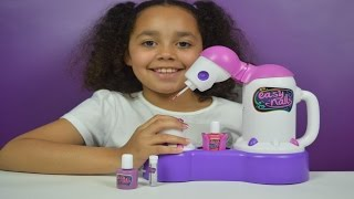 getlinkyoutube.com-Easy Nails Nail Spa | Tutorial | Kids Toy Review
