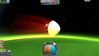 getlinkyoutube.com-Kerbal Space Program - Gratuitous Re-Entry