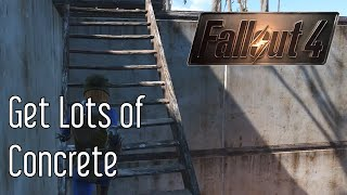 getlinkyoutube.com-Get Concrete in Fallout 4