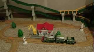 getlinkyoutube.com-Denis's GeoTown (GeoTrax Transportation system)