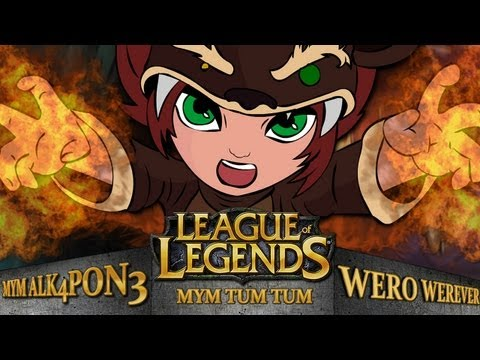 LEAGUE OF LEGENGS CON EL WERO ALKA