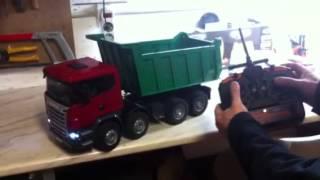 getlinkyoutube.com-Bruder RC truck Scania 8x8 [MAGOM HRC]
