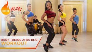 getlinkyoutube.com-Body Toning Afro Beat Workout: Burn to the Beat- Keaira LaShae