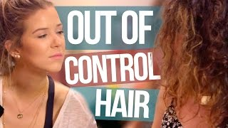 getlinkyoutube.com-How to Straighten OUT OF CONTROL Frizzy Hair