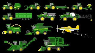 getlinkyoutube.com-Farm Vehicles - The Kids' Picture Show (Fun & Educational Learning Video)