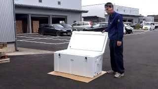 getlinkyoutube.com-プロ仕様!ダイライト保冷容器 クールボックス 200型