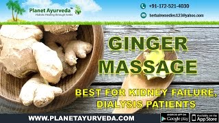 getlinkyoutube.com-Ginger Massage Therapy - Best for Kidney Failure, Dialysis Patients
