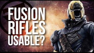 Are Fusion Rifles Effective? (pre 2.0)