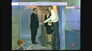getlinkyoutube.com-Impactantes accidentes en programas de TV