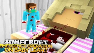 getlinkyoutube.com-EMERGENCY OPERATION ON BABY LEAH!! - Little Donny Minecraft Custom Roleplay.