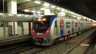 getlinkyoutube.com-Korail Line 1 train arriving at Yongsan