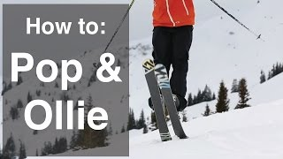 getlinkyoutube.com-HOW TO JUMP ON SKIS | PART 1