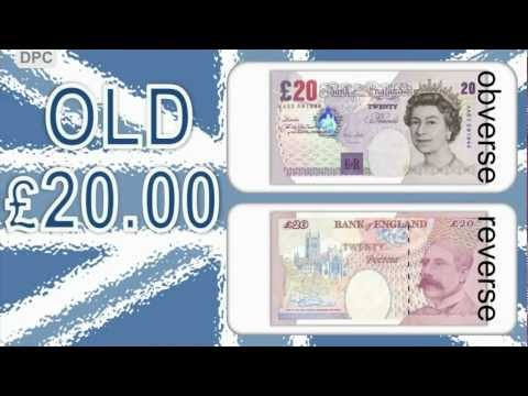 British pound sterling: Banknotes
