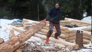 getlinkyoutube.com-Blockhaus bauen 1