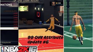 getlinkyoutube.com-NBA 2K16| NEW 99 OVR PG ATTRIBUTE UPDATE | Best Signature Styles #6 - Prettyboyfredo