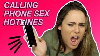 CALLING PHONE SEX HOTLINES   Tags & Challenges   AYYDUBS