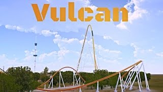 getlinkyoutube.com-[NoLimits 2] Vulcan- B&M Strata Coaster