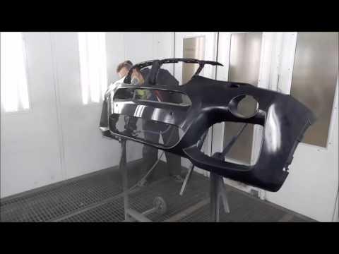 Покраска бампера и крыла BMW X3